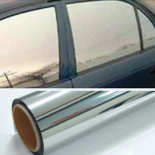 Chrome 5% Light One Roll Mirror Window Tint Film 10 Ft x 24 In Wide NEW