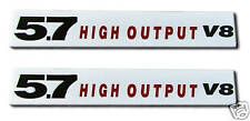 NEW 5.7 High Output V8 Emblems (2)