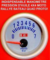 MANOMETRE PRESSION HUILE MONTAGE 5mn GTI RS STI WRX WILLIAMS CUPRA ABARTH FR TDI