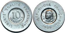 IIIe République, essai de 10 centimes par Rude, 1909