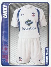 080 AWAY KIT ENGLAND CRYSTAL PALACE STICKER FL CHAMPIONSHIP 2010 PANINI