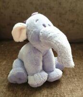 "Disney Winnie The Pooh Heffalump Plush Soft Toy Beanie 6"" Walt Disney Elephant"