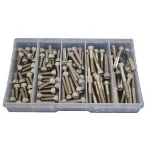 Kit Size 90 Socket Cap Screw M6 Stainless Steel G304 Allen Bolt #165