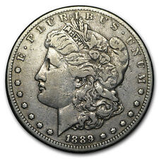 1889-CC Morgan Dollar VF Details (Cleaned)