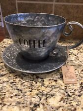 New listing Boston Warehouse Coffee Kup Keeper, Galvanized Coffee Cup - Holds 20 Pods