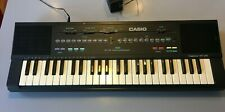 CASIO MT 240 CASIOTONE KEYBOARD with ADAPTER 80's sound retro vintage