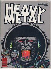 Heavy Metal Magazine  #6  Adult Fantasy   FN/VFN