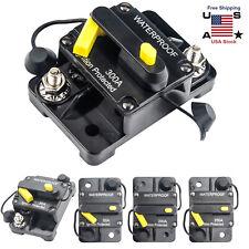 30~300AMP 12V DC Circuit Breaker Reset Car Auto Marine Stereo Audio FuseInverter