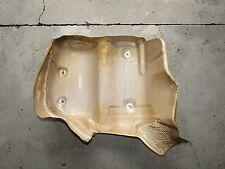 BMW E60 M5 S85 V10 Exhaust Muffler Heat Shield Insulator Left Side OEM 7896463