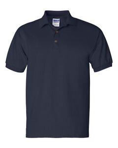 Gildan Ultra Cotton Adult Plain Polo Shirt Shirt Navy or Royal Blue