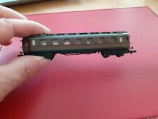 ARNOLD WEST GERMANY N GAUGE - BROWN CONTINENTAL STYLE COACH