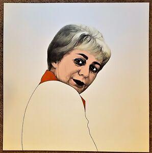 "THEO WUJCIK Pencil SIGNED Color Lithograph ""JUNE WAYNE Tamarind"" Ltd. Proof 1973"