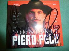 PIERO PELU' - IDENTIKIT  autografato