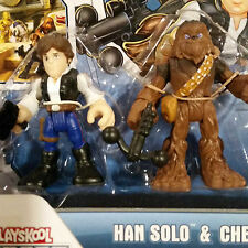 Hasbro  Playskool Heroes,  Star Wars: Jedi Force - Han Solo & Chewbacca  -=NEW=-
