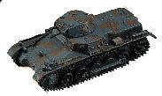 F-Toys 601619-3 Panzer I (Sd.Kfz.101) (2x) 1/144