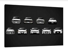 Nissan Collection 30x20 Inch Canvas - Framed Picture Poster Print