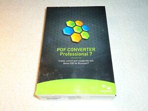 Nuance PDF Converter Professional 7, DVD-ROM Windows XP VISTA 7