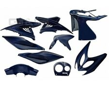 Kit de Disfraces Cubierta 9 piezas en azul metálico para YAMAHA AEROX MBK NITRO
