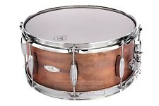 C&C Aged Copper Over Steel Snare Drum 14x6.5 8-Lug