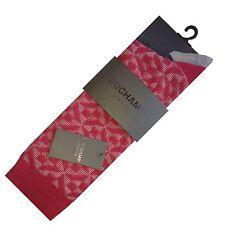 GIFTS FOR MEN Duchamp Mens 2 Pack MSHDC361STM Tipped Knit Socks Red Grey 7-11