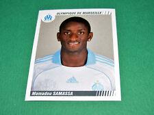 N°259 SAMASSA OLYMPIQUE MARSEILLE OM PANINI FOOT 2009 FOOTBALL 2008-2009