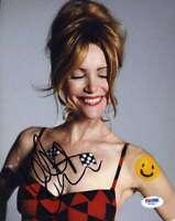 Leslie Mann Psa Dna Coa Autograph 8x10 Photo Hand Signed