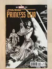 Princess Leia #1 Rare Hastings Mico Suayan Variant B/W Sketch Cover