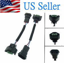 H11/H8 Wiring Harness Socket Wire Connector Plug Extension Cable Male Female