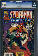 1998 CGC 9.8 Spider-Man Chapter One #1 AU Gold Foil Variant Another Universe