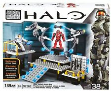 Mega Bloks Halo Infinity Armor Bay - Approx. 189 pieces with weapons rack - NEW