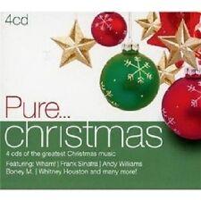 PURE...CHRISTMAS 4 CD BONEY M WHAM BOB DYLAN ELVIS PRESLEY BRITNEY SPEARS UVM NE