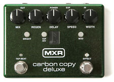 MXR Carbon Copy Deluxe Analog Delay Guitar Pedal M292 Extended Delay ( OPEN BOX)