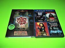 Return of the Living Dead: 5-Film Zombie Set (DVD)!!!