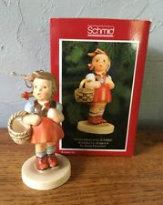"Vintage Schmid ""Sweetheart"" Christmas Ornament 1984 Hummel Repro W/Box"