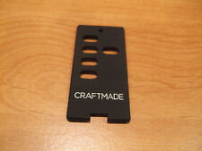 Craftmade Ceiling Fan Remote Wall Control Insert Switch Decora Button Black