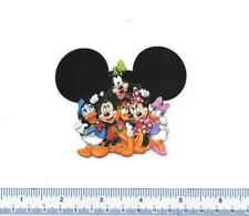 DISNEY MICKEY MOUSE & FRIENDS - Heat Fabric/T-shirt Iron on/Heat on Transfer MM2