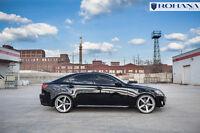 20x9 20x10 +40 Rohana RC22 5x114.3 Silver Wheels Fit Lexus IS250 2007 5x4.5 Rims