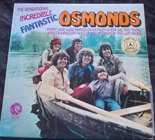 THE OSMONDS The Sensational, Incredible, Fantastic Osmonds LP