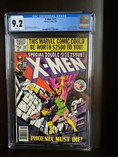 X-Men 137 / CGC graded 9.2  / Newsstand edition / Death Of Phoenix / WHITE pages