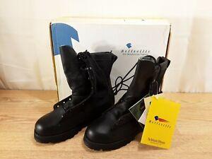 Belleville Combat Infantry Boots Gore-Tex Black Vibram Soles Size 4.0 W NEW