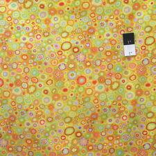 Kaffe Fassett GP20 Paperweight Yellow Cotton Fabric By Yd