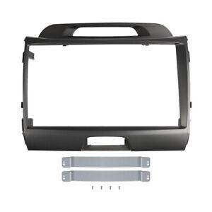 9 inch Car Radio Fascia for KIA SPORTAGE 2010-2015 Stereo Panel Dash Kit Frame
