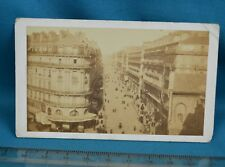 1860/70s CDV France Carte De Visite Photo Marseille Rue Imperiale La Republique