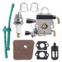 9X Carburetor Carb Air Fuel Filter For STIHL FS38 FS45 FS46 FS55 KM55 FS80 FS85