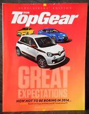 TopGear 261 Renault Twingo,Audi TT,Jaguar XE Subscribers Magazine October 2014