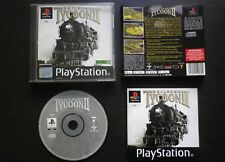 JEU Sony PLAYSTATION PS1 PS2 :  RAILROAD TYCOON II (complet SLES-02426suivi)