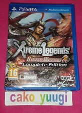 DYNASTY WARRIORS 8 XTREME LEGENDS COMPLETE EDITION  SONY PS VITA NEUF 100% FR
