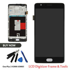 Black LCD Display Screen Touch Assembly Digitizer Replacement Fr OnePlus 3 3T US