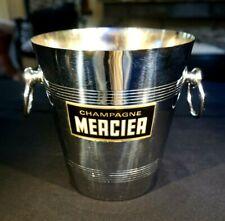 Beautiful Vintage French Metal Mercier Champagne Bucket