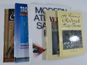 (5) Better Fly Fishing Hardcover Reference Books - Rods / Reels / Flies